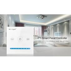 Настенный пульт ДУ Smart Panel контролер Mi Light P1
