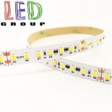 Светодиодная лента 24V, 2835, 126 led/m, 14W, IP20, 1540Lm, 3000K-белый тёплый, Standart. Гарантия - 12 месяцев