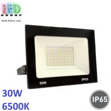 Светодиодный LED прожектор 30W, 2400Lm, 6500K