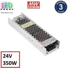 Блок питания 24V, 5.6A, 201.6W, Mean Well, UHP-350-24, металлический корпус, IP20, для внутреннего применения. Гарантия - 3 года.