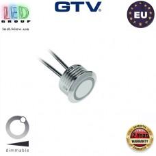 Выключатель сенсорный GTV, с регулятором яркости, 12V, 20W, провод 1.5м, цвета хром. ЕВРОПА!!! Гарантия - 2 года!