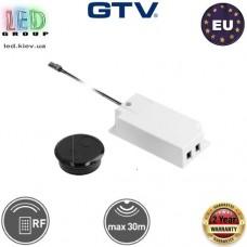 Дистанционный радиоуправляемый выключатель GTV, накладной, 60W, 12V, чёрный. ЕВРОПА!!! Гарантия -2 года!