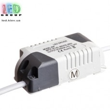 Драйвер/блок питания 6W, 12-25V, 300мА, IP20