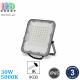 Светодиодный LED прожектор, 30W, 5000K, IP65, с датчиком сумерек, алюминий, серый, RA≥80, PREMIUM. Гарантия - 3 года
