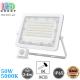 Светодиодный LED прожектор, 50W, 5000K, IP65, с датчиком движения и освещения, алюминий, накладной, белый, RA≥80
