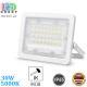 Светодиодный LED прожектор, 30W, 5000K, IP65, алюминий, накладной, белый, RA≥80