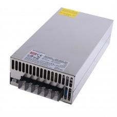 Блок питания 12V, 25A, 600W, Mean Well, SE-600-24, металлический корпус, IP20, для внутреннего применения. Гарантия - 2 года.