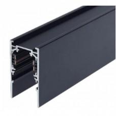 Шинопровод магнитный накладной MLTSE-MT510/B, 1м, для 3-фазной магнитной трековой системы, чёрный