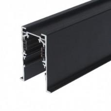 Шинопровод магнитный врезной MLTSE-CMT510/B, 1м, чёрный, для 3-фазной магнитной трековой системы