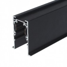 Шинопровод магнитный врезной MLTSE-CMT520/B, 2м, чёрный, для 3-фазной магнитной трековой системы