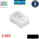 Блок питания диммируемый DALI, BOKE, 3-42V, 29.4W, 0.25-0.70A, для внутреннего применения, IP20, не герметичный. Premium.