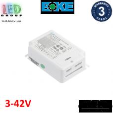 Блок питания диммируемый DALI, BOKE, 3-42V, 42W, 0.60-1.10A, для внутреннего применения, IP20, не герметичный. Premium.