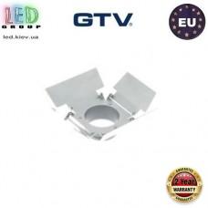 Заглушка/наконечник GTV, для трековых светильников LIMA и GROSSO, квадратная, белая. ЕВРОПА!