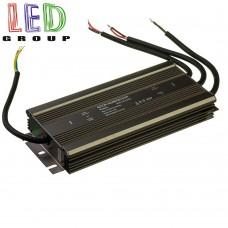 Блок питания герметичный 600W 50A 12V металлический корпус, IP67, герметичный, для наружного и внутреннего применения. Гарантия 1 год!!!