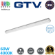 Светодиодный LED светильник GTV, 60W (ЕМС+), 4000K, IP65, 1500мм, накладной, магистральный, герметичный, пластиковый, белый, Ra≥80, BESTA LED. ЕВРОПА! Гарантия - 5 лет