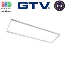 Переходная/монтажная алюминиевая рамка GTV для светодиодных панелей 120x30см, алюминиевая, белая, KING. ЕВРОПА!