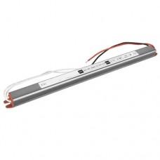 Блок питания герметичный SLIM 12V, 48W, 4A, алюминиевый корпус, IP67, герметичный, для наружного применения. Standart
