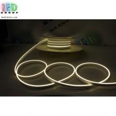 Cветодиодный гибкий неон мини 12V, LED NEON MINI - 13х5мм, цвет свечения - белый нейтральный