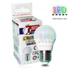 Cветодиодная лампа HOROZ, 6W, E27, 4200К, ELITE-6