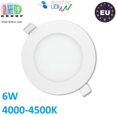 Потолочный LED светильник master LED 6W, 4000-4500K, Proma, круглый, белый. Польша!