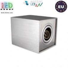 Потолочный светильник/корпус master LED, накладной, алюминий, квадратный, сатин, 1хGU10. ЕВРОПА!