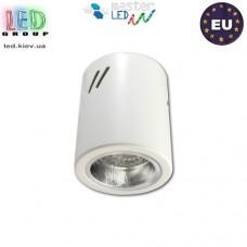 Потолочный светильник/корпус, master LED, накладной, Ø90x110мм, 1хE27, сталь, белый. ЕВРОПА!