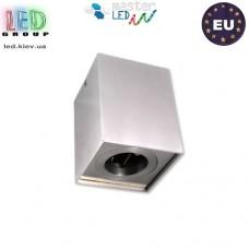 Потолочный светильник/корпус, master LED, накладной, алюминий, квадратный, сатин, 1хGU10. Польша!