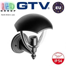 Светильник/корпус GTV, фасадный, уличный, IP54, накладной, ретро, 1xE27, GRANDE-AU. Польша!