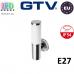 Светильник/корпус GTV, фасадный, уличный, IP54, однонаправленный, накладной, 1xE27, MILAN-A. ЕВРОПА!