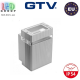 Светильник/корпус GTV, фасадный, уличный, IP54, однонаправленный, накладной, серый, 1xGU10, NESSA. ЕВРОПА!