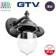 Светильник/корпус GTV, фасадный, уличный, IP54, накладной, ретро, 1xE27, TOSKANA-AD. ЕВРОПА!