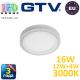 Светодиодный LED светильник GTV, 3 в 1 (16W-12W-4W), 3000К, накладной, TWINS. ПОЛЬША!!! Гарантия - 3 года