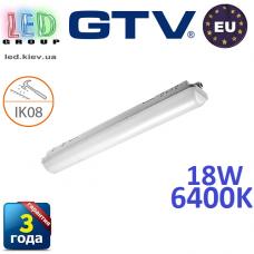 Светодиодный LED светильник GTV герметичный 18W, IP65, 6400K, 600мм, GERMINO. ЕВРОПА!!! Гарантия - 3 года