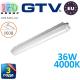 Светодиодный LED светильник GTV герметичный 36W, IP65, 4000K, 1200мм, GERMINO. ПОЛЬША!!! Гарантия - 3 года