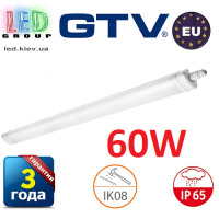 Светодиодный LED светильник GTV герметичный 60W (EMC+), IP65, 4000K, 1200мм, OMNIA PLUS BIS. ЕВРОПА!!!