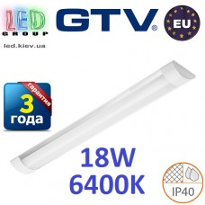 Светодиодный LED светильник GTV, 18W, 6400К, 600мм, IP40, накладной, OLIMPIA. ЕВРОПА!