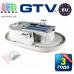 Светодиодный LED светильник GTV, 8W (ЕМС +), 4000K, OVALIO. ЕВРОПА!!!