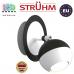 Настенный светильник/корпус, Strühm Poland, накладной, нержавеющая сталь, круглый, чёрный/белый, 1хGU10, KOMBI. ЕВРОПА
