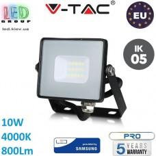 Светодиодный LED прожектор, V-TAC, 10W, 4000K, 800Lm. SAMSUNG CHIP, RA≥80. ЕВРОПА!!! Premium. Гарантия - 5 лет