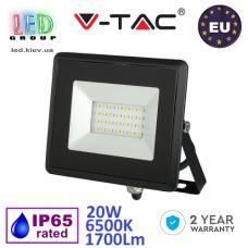 Светодиодный LED прожектор, V-TAC, 20W, 6500K, 1700Lm. ЕВРОПА!!! Гарантия - 2 года