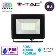 Светодиодный LED прожектор, V-TAC, 50W, 4000K, 4250Lm. ЕВРОПА!!! Гарантия - 2 года