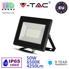 Светодиодный LED прожектор, V-TAC, 50W, 6500K, 4250Lm. ЕВРОПА!!! Гарантия - 2 года