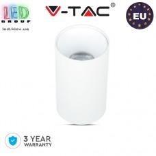 Светильник/корпус потолочный V-TAC, GU10, круглый, белый. ЕВРОПА!!! Гарантия - 3 года