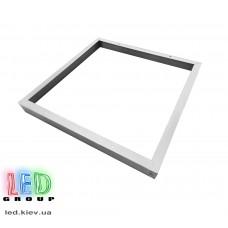 Переходная/монтажная рамка для светодиодных LED панелей 600х600мм ECONOM