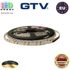 Светодиодная лента GTV, 12V, SMD 2835, 120 led/m, 5мм, 6.6W, IP20, 750Lm, 6500K - белый холодный, Premium. Гарантия - 24 месяца