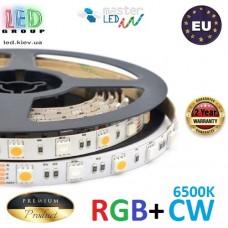 Светодиодная лента master LED, 12V, SMD 5050 RGB + SMD 5050 CW, 60 led/m, IP20, 3600Lm, Premium. Гарантия - 2 года.
