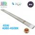Светодиодный линейный светильник, master LED, 45W, 4000-4500K, IP20, RA>70, slim Integra, алюминий+PC. ЕВРОПА!
