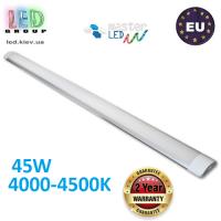 Светодиодный линейный светильник, master LED, 45W, 4000-4500K, IP20, RA≥70, slim Integra, алюминий + PC. ЕВРОПА!