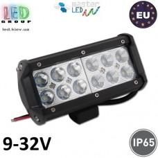 Светодиодный LED прожектор, master LED, низковольтный 9-32V, 20W, 6000K, IP65, алюминий + закалённое стекло, чёрный, Robocza. Польша!