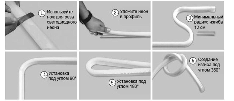 Как устроен диодный светящийся шнур?
